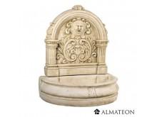 -50% vente privée reste 1 fontaine FLORE en pierre reconstituée - grand format - ton pierre