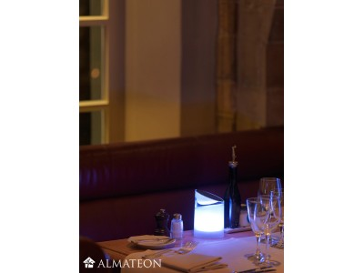 Lampe de table led sans fil kosi almateon - Lampe de table led sans fil ...