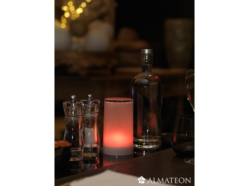 Lampe de table led sans fil venetian almateon - Lampe de table led sans fil ...