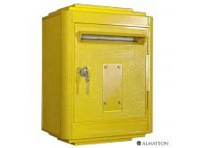 Nouveau & unique votre boite aux lettres officielle La Poste - grand format - Jaune