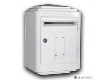 Nouveau & unique votre boite aux lettres officielle La Poste - grand format - Blanc