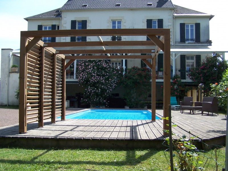 couverture pergola elegant couverture pergola bois amazing couverture terrasse bois with. Black Bedroom Furniture Sets. Home Design Ideas