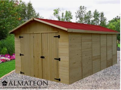votre Garage Panneau en bois massif d'épaisseur 16 mm de 15,60 m2