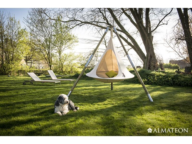 hamac suspendu 2 personnes cacoon double 180 cm almateon. Black Bedroom Furniture Sets. Home Design Ideas
