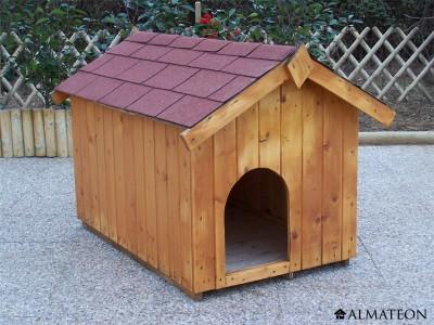 Niche en bois Ceasar pour petit chien 0,77m2