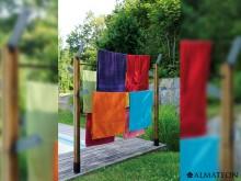 Vente flash -11€ spéciale piscine votre étendoir à linge ALMATEON, L 180 cm