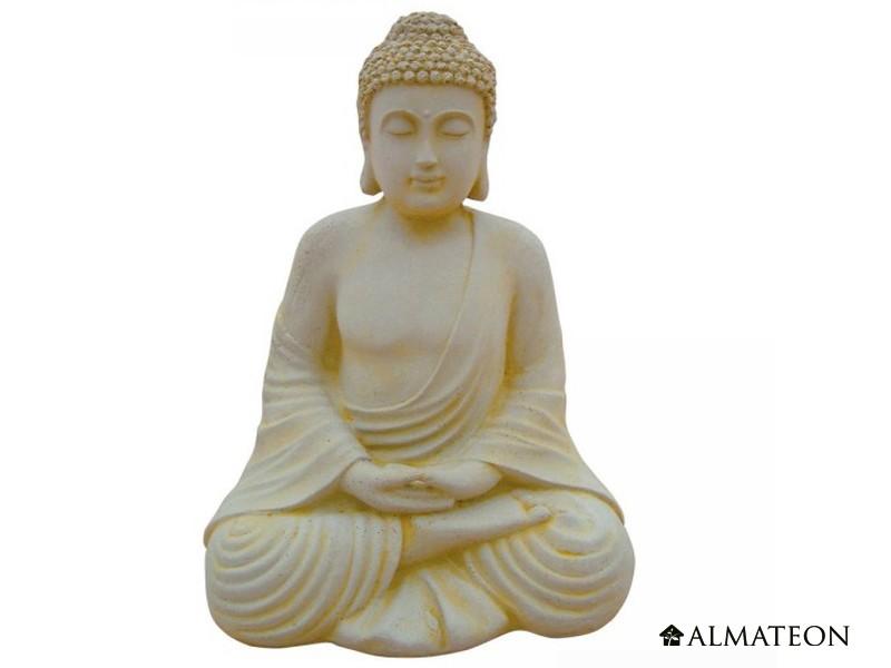 statue en b ton bouddha hindou hauteur 50 cm almateon. Black Bedroom Furniture Sets. Home Design Ideas