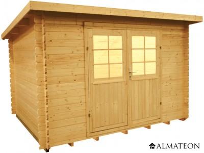 Abri en sapin 7 m² WW-22, 28 mm