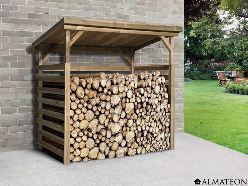 petit abri de rangement en bois massif 19 mm d 39 paisseur. Black Bedroom Furniture Sets. Home Design Ideas