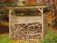 Promotion -45€ votre petit abri de rangement en bois massif, 19 mm d'épaisseur