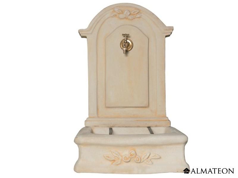 fontaine murale romantique en pierre 61 x 48 x 96 cm. Black Bedroom Furniture Sets. Home Design Ideas