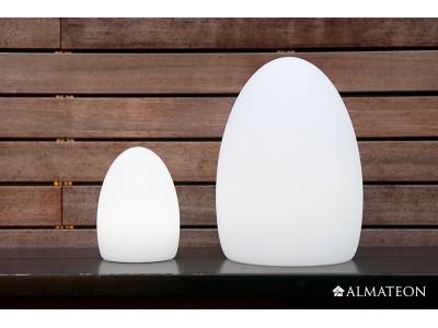 Lampe led sans fil ovo almateon for Lampe exterieure sans fil
