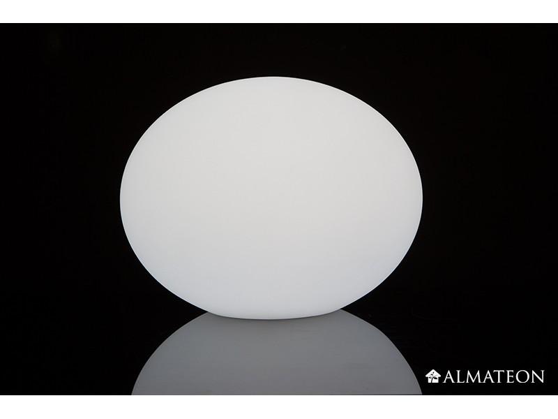 Lampe led sans fil flatball 3d imagilight almateon - Lampe exterieure sans fil ...