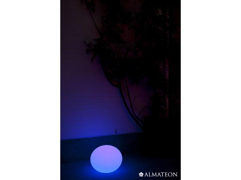 Lampe led sans fil flatball 3d imagilight almateon for Lampe exterieure sans fil