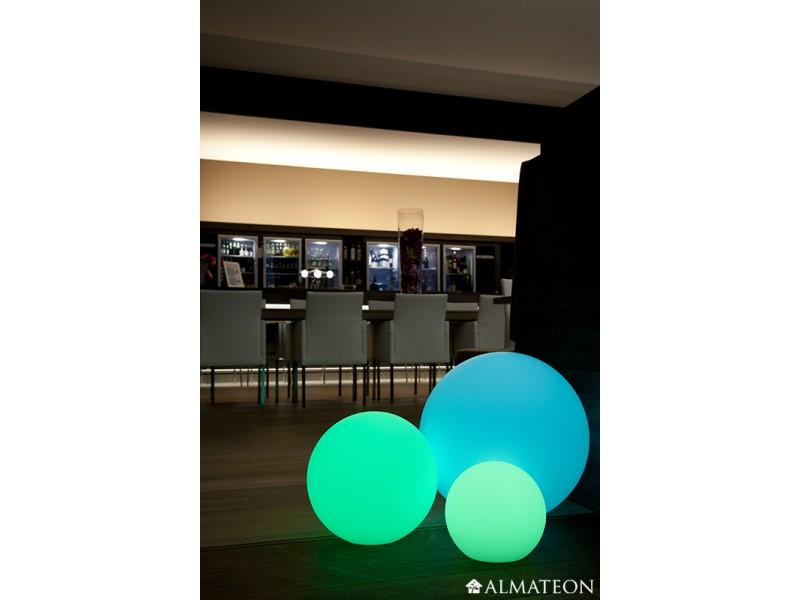 lampe led sans fil ball almateon. Black Bedroom Furniture Sets. Home Design Ideas