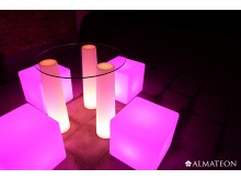 lampe de table led sans fil kosi almateon. Black Bedroom Furniture Sets. Home Design Ideas