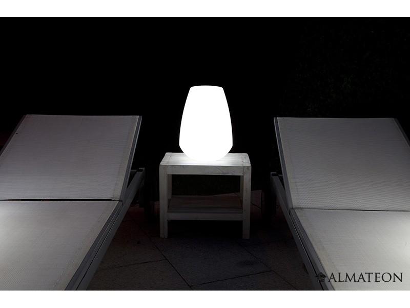 Lampe led sans fil lanterne almateon for Lumiere exterieur sans fil