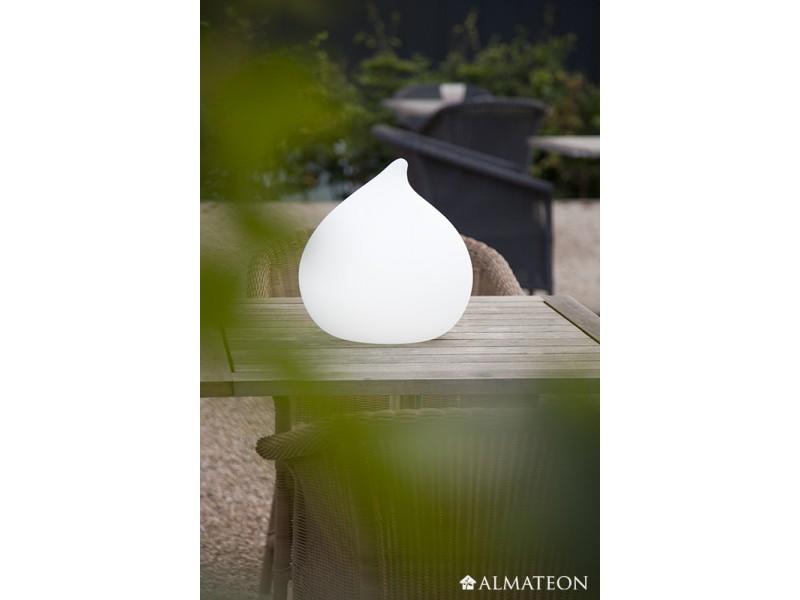 Lampe led sans fil teardrop almateon for Lampe exterieur sans fil