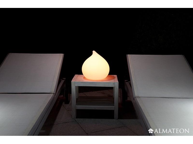 lampe led sans fil teardrop almateon. Black Bedroom Furniture Sets. Home Design Ideas