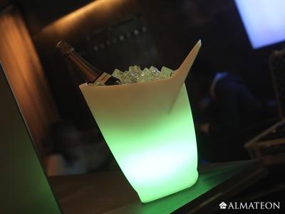 Seau à glaçons LED sans fil - VIGGO - IMAGILIGHT