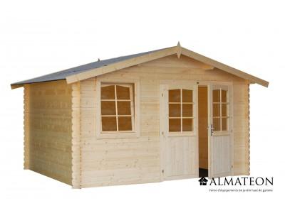 Abri en sapin 11.53 m² WW-28, 28 mm