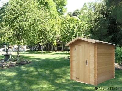 Abri en bois 3,17 m² Bex, 19 mm
