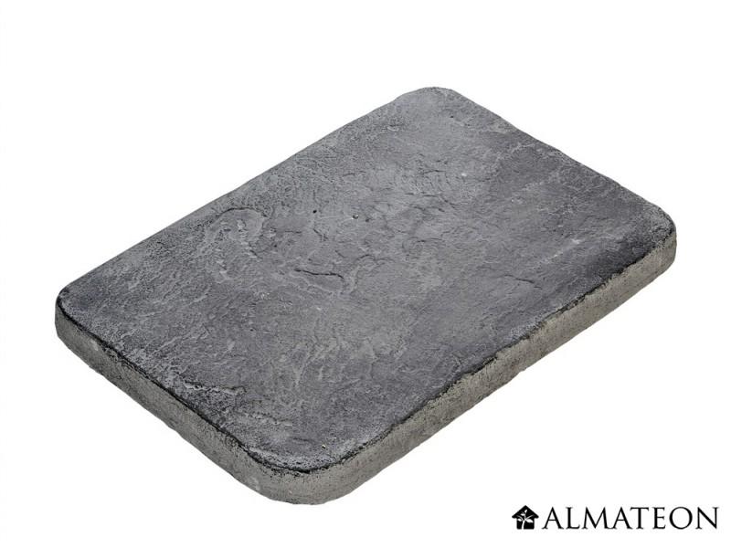 Pas japonais rectangulaires couleur anthracite 10 unit s almateon - Pas japonais grand format ...