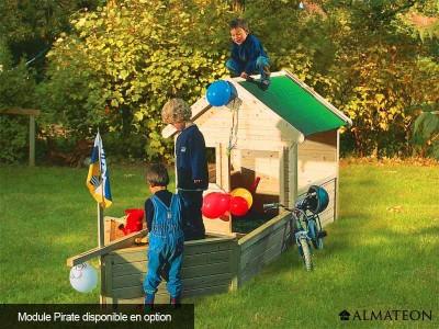 Maison pour enfant modulable