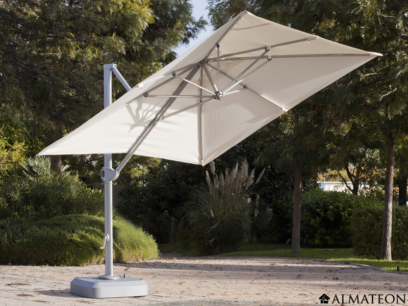 parasol rectangulaire new roma