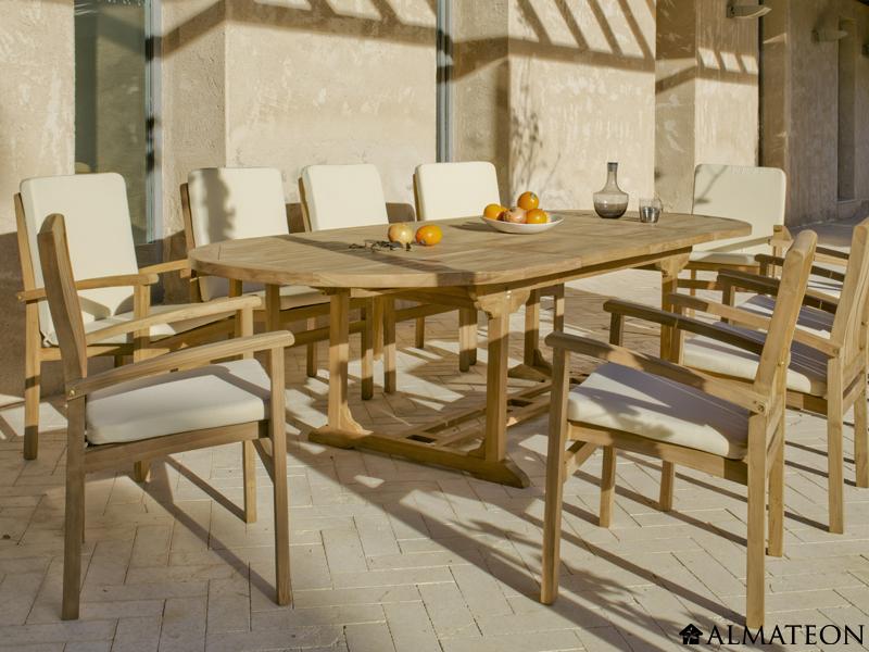 Petit Salon De Jardin Gris : Bien choisir son salon de jardin !  Blog Almateon