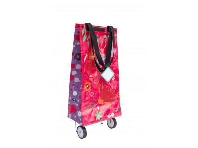 FIN DE SERIE ETE - 60% Shopping bag à roulettes de plage