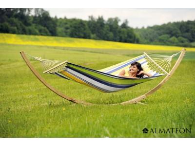 Votre ENSEMBLE hamac + support, Starset Kolibri, toile polyester et coton, structure épicéa