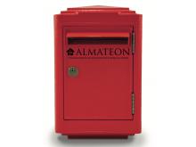 Offre spéciale votre boite aux lettres officielle 1945 La Poste - petit format - Rouge
