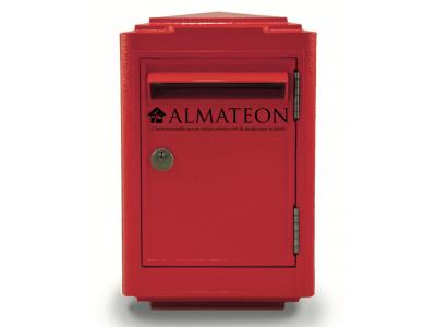 boites aux lettres officielle de la poste rouge almateon. Black Bedroom Furniture Sets. Home Design Ideas