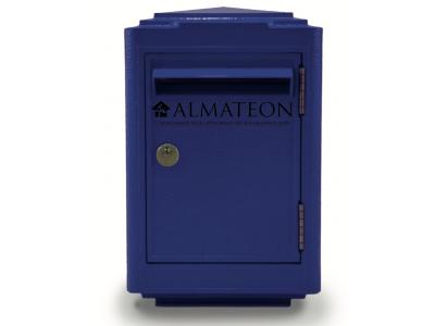 Offre spéciale votre boite aux lettres 1945 officielle La Poste - petit format - Bleu