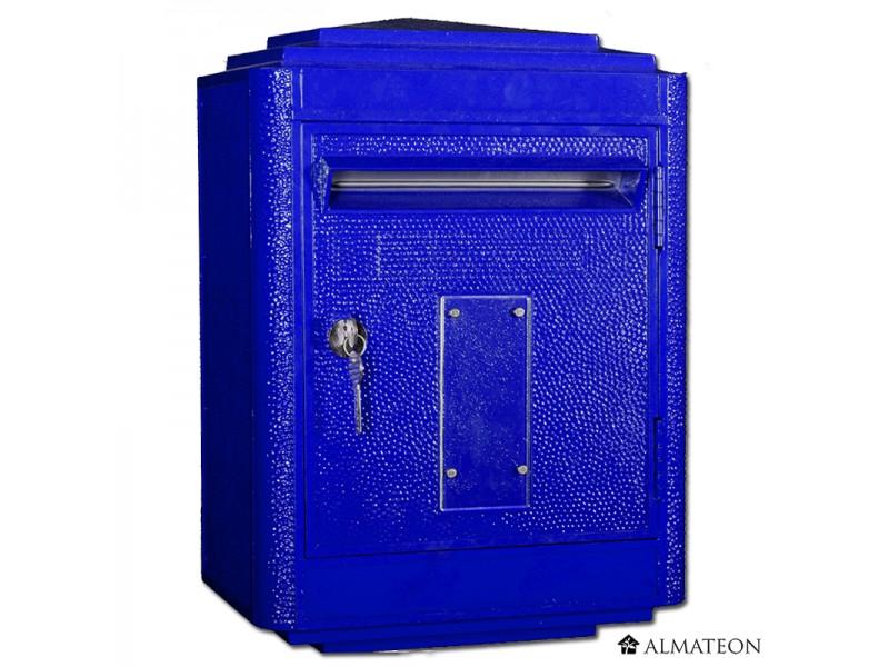 boites aux lettres officielle de la poste bleu almateon. Black Bedroom Furniture Sets. Home Design Ideas
