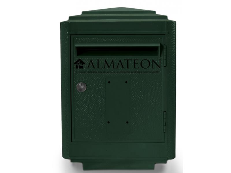 boites aux lettres officielle de la poste vert almateon. Black Bedroom Furniture Sets. Home Design Ideas