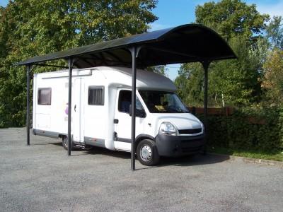 Offre spéciale votre carport pour camping-car en aluminium - 27,51 m2 -  ANTI-UV