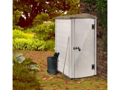 Edition limitée votre abri jardin résine mural latéral réversible, bicolore,1.16m2 vidéo de présentation