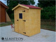Offre spéciale votre Abri Panneau bois massif avec plancher de 3,55 m2