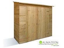 Armoire de rangement SAVONA en bois de 1.64 m2