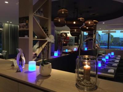 Kit complet ECO votre lampe de table à LED SHADOW IMAGILIGHTS sans fil avec chargement direct