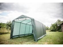 Bâche de protection bicolore vert foncé 195 gr/m2 pour AT 3061