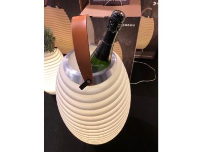 NOUVEAU Lampe LED original KOODUU , enceinte Bluetooth, pot de fleur, glacière