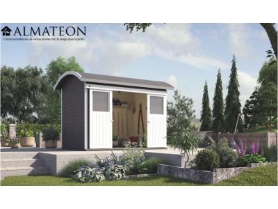 Abri de jardin à portes coulissantes de 6 m2, anthracite