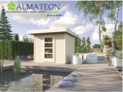 Abri De Jardin Design 5m2 Brut Taille 2 Almateon