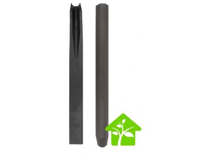 Piquet bordure bassin ou jardinet BorderFix pour stabilité en PE recyclé à fixer H38 x 4 x 4 cm par 10 taille 2 spécial WEB