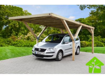 Abri en Y simple pour voiture sans couverture de toit