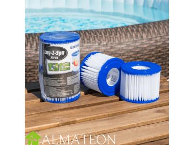 Filtres Bestway Lay-Z-Spa type VI pour votre spa, lot de 2 cartouches