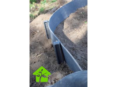 Economique BorderFix idéal petit jardinet (bordure multi usage ) rouleau de 10 M x H14 cm épaisseur 7 mm spécial WEB